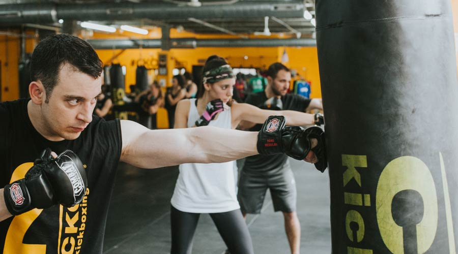 cko kickboxing group classes