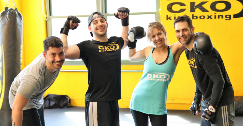 A Happy Group smiling at CKO