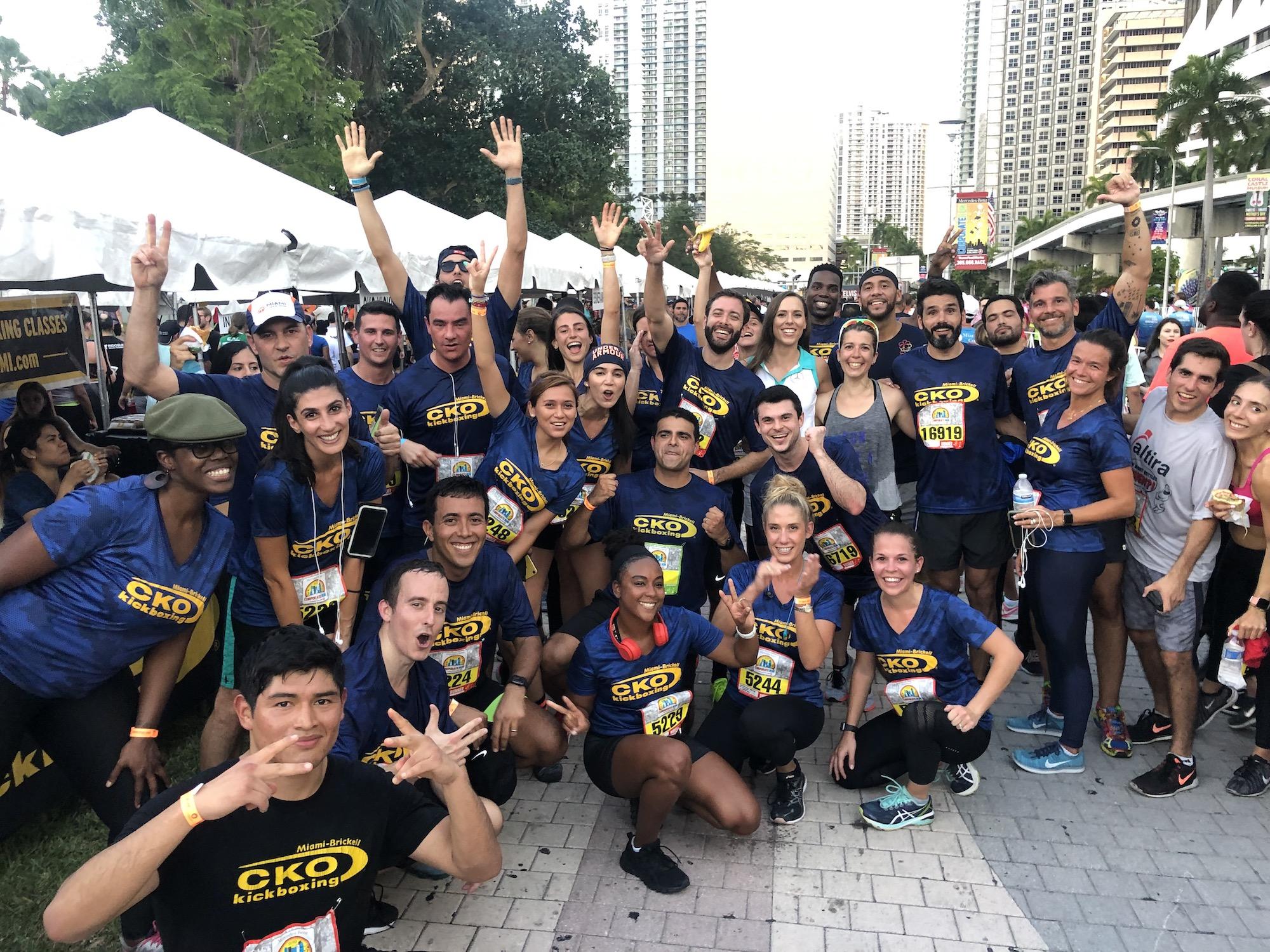 Join #CKOKickboxing Team for the Miami Corporate Run