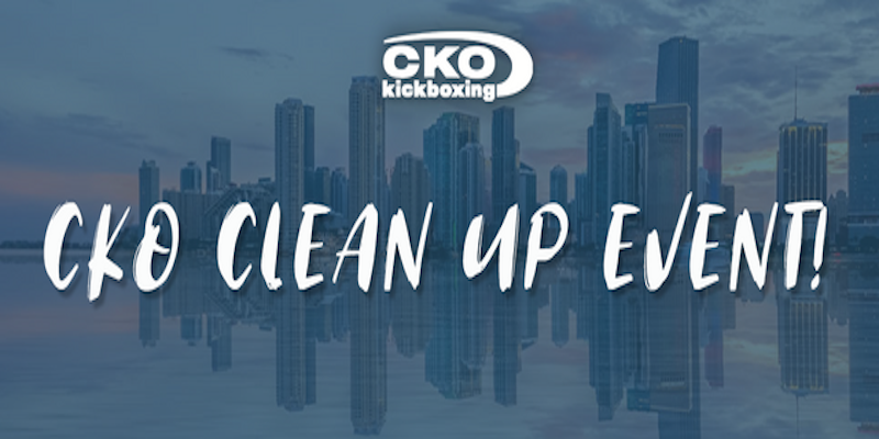 CKO Miami New Year Resolution Clean Up Event