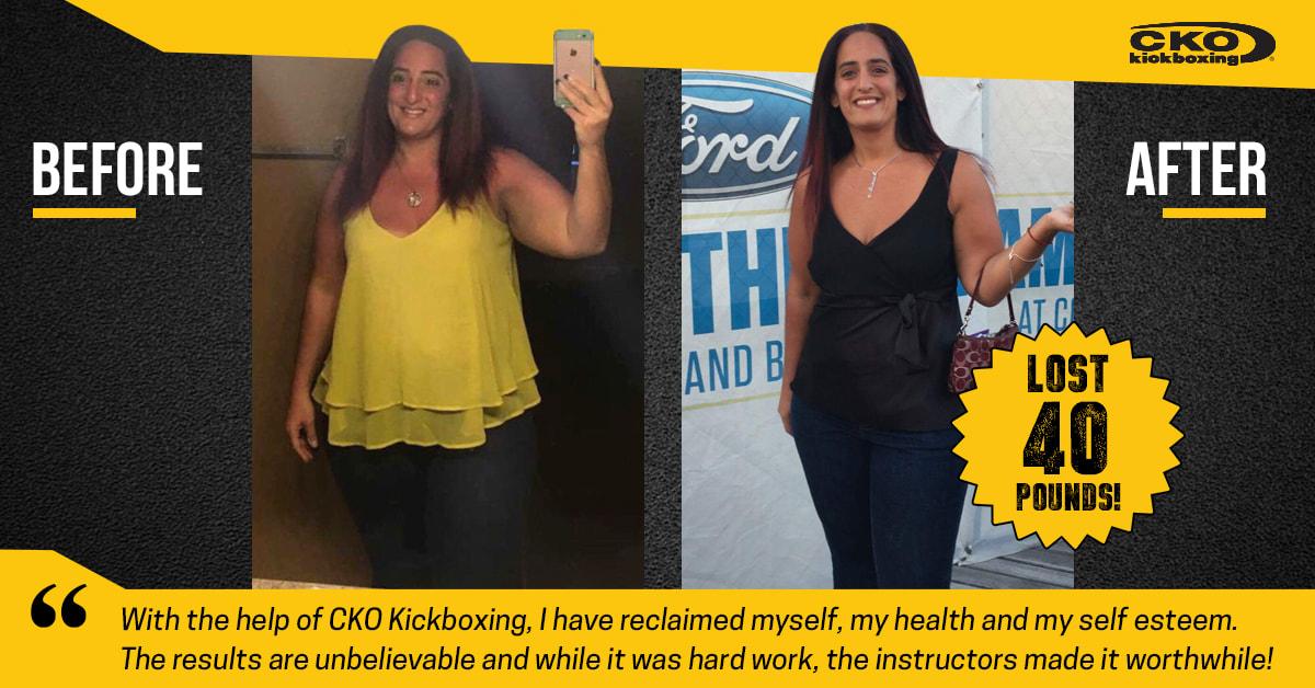 CKO GR Downtown Kickboxing Weight Loss Results   CKO Kickboxing