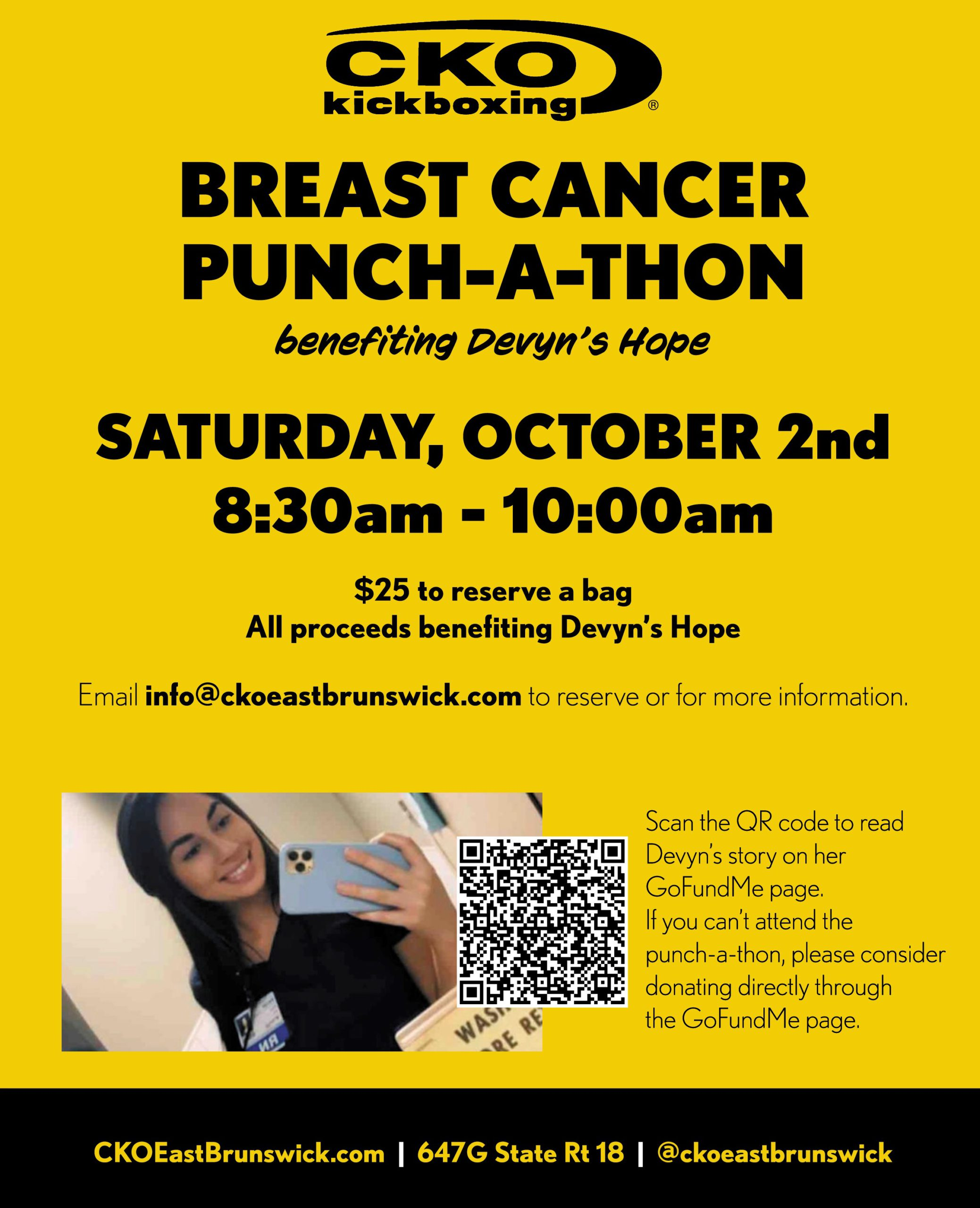 Breast Cancer Punch-A-Thon