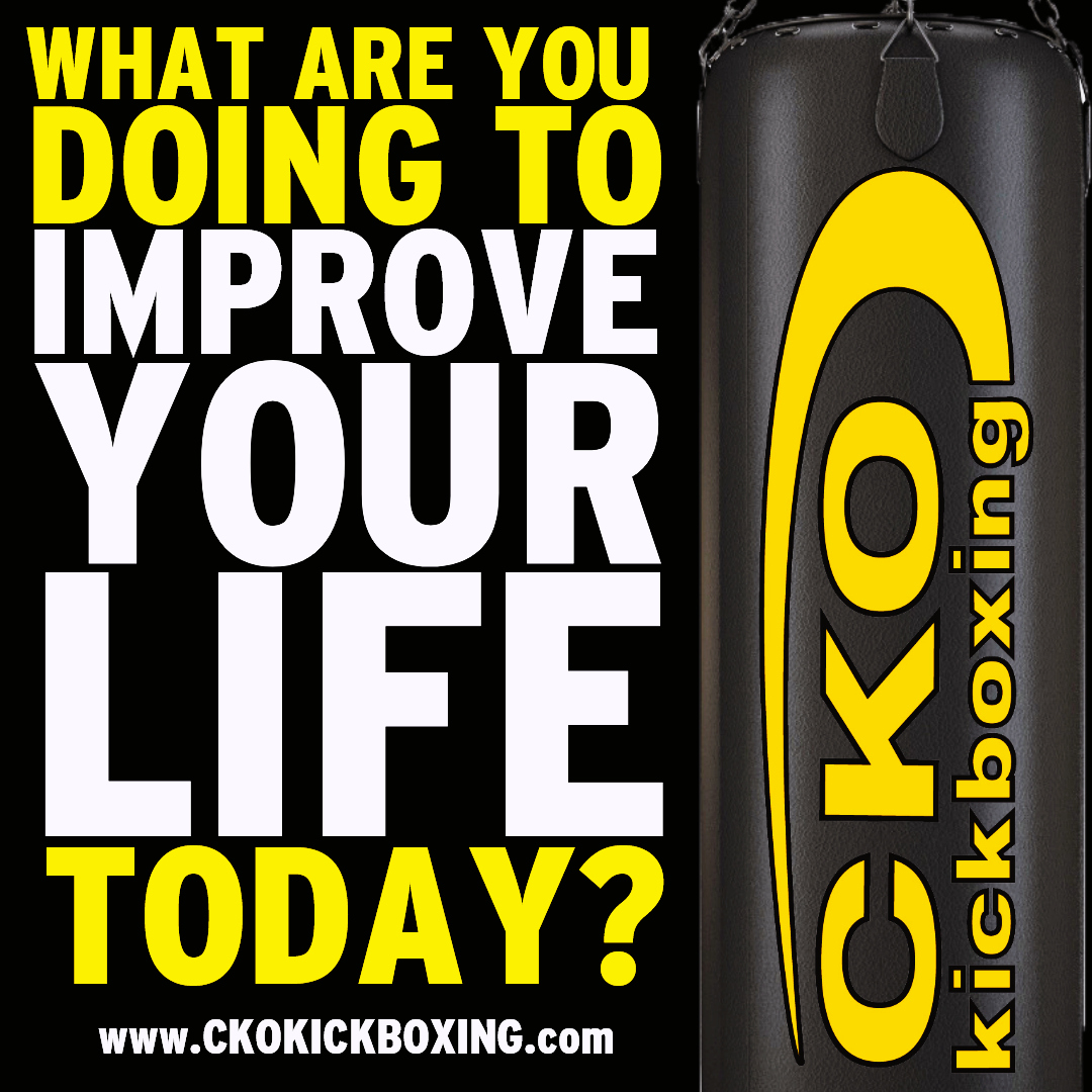 What are you doing to improve your life?!