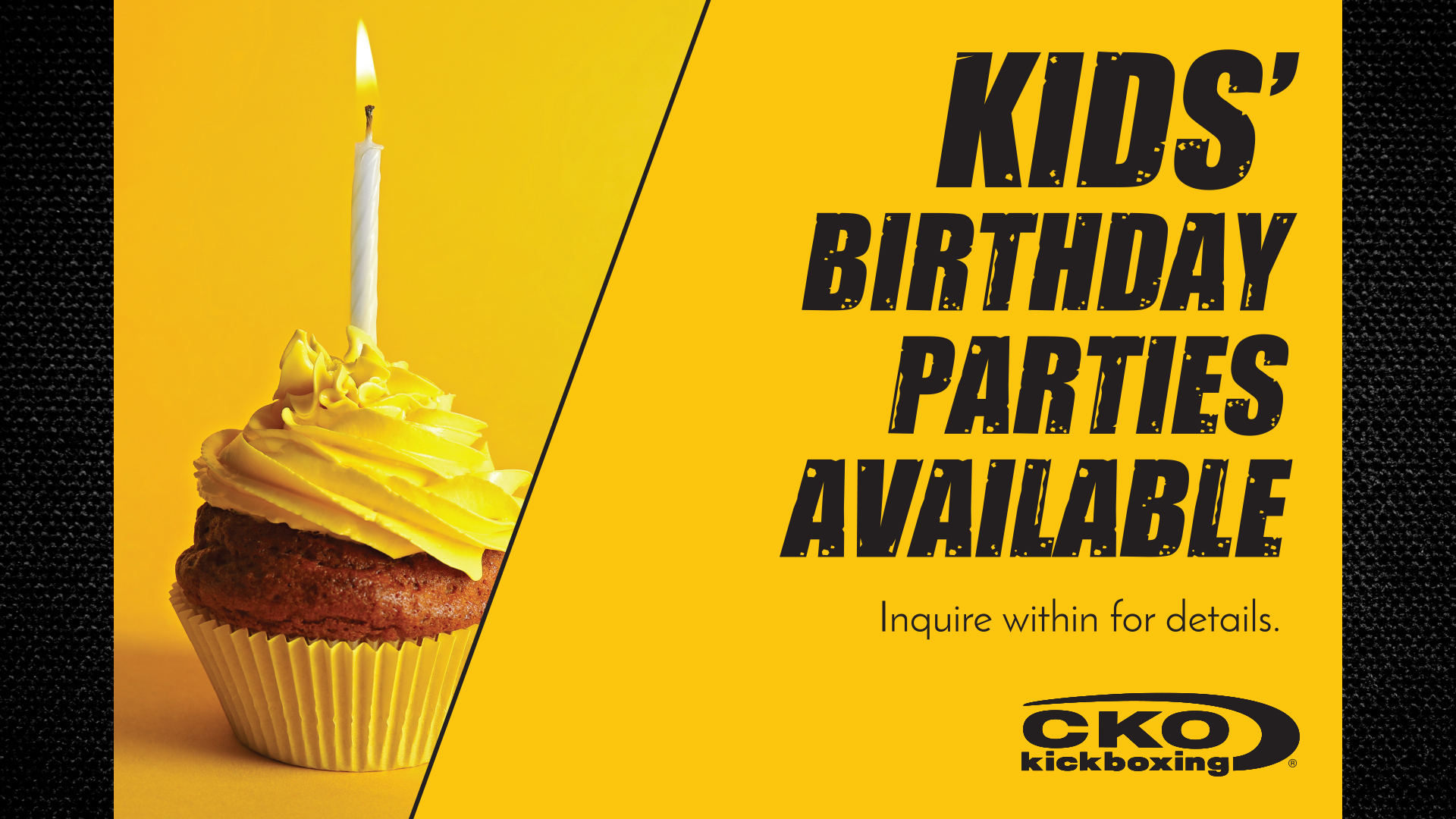 Kids Birthday Parties Available!