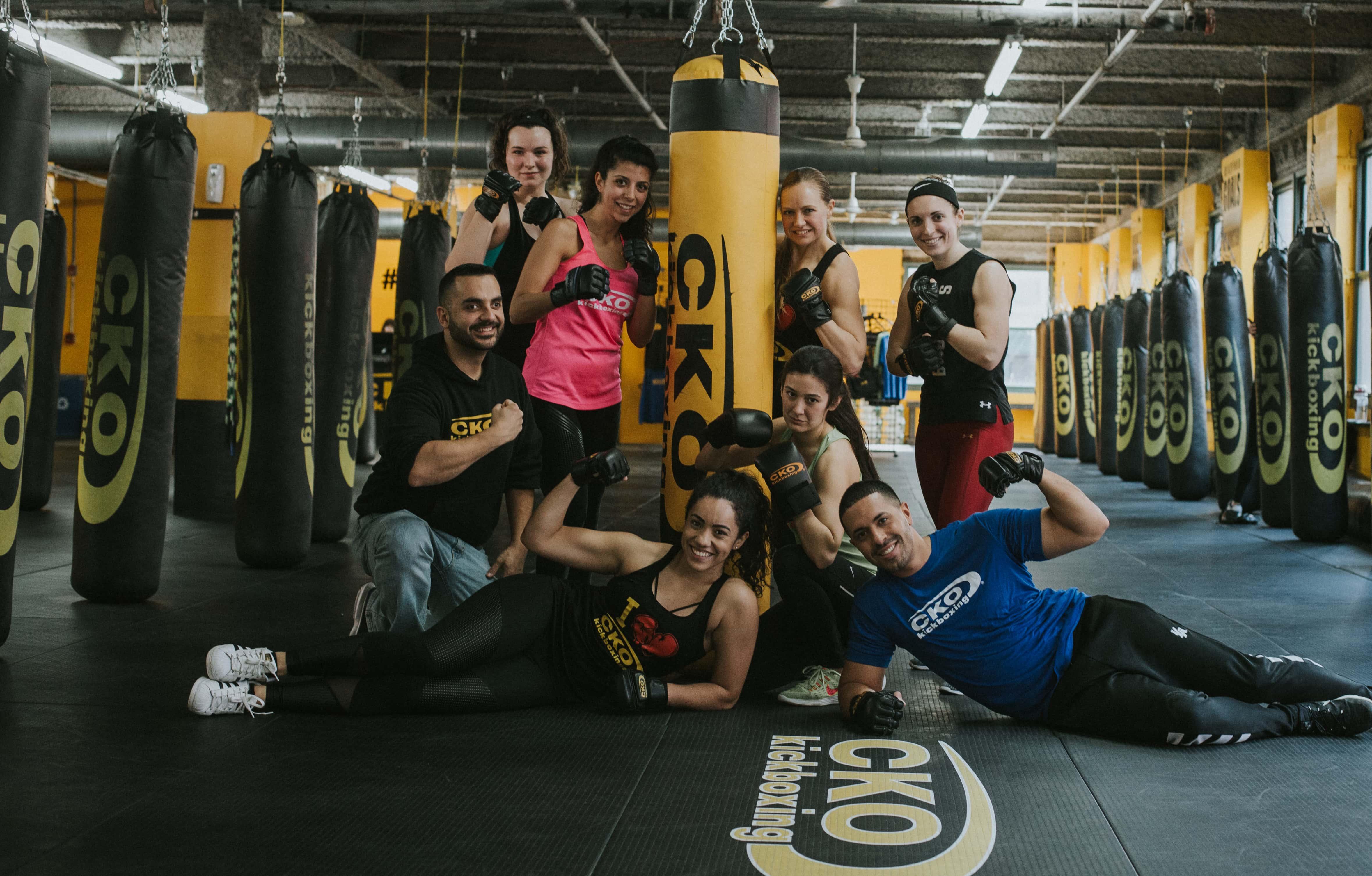 Group Kickboxing