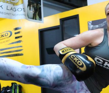 Kickboxing your goals at CKO!