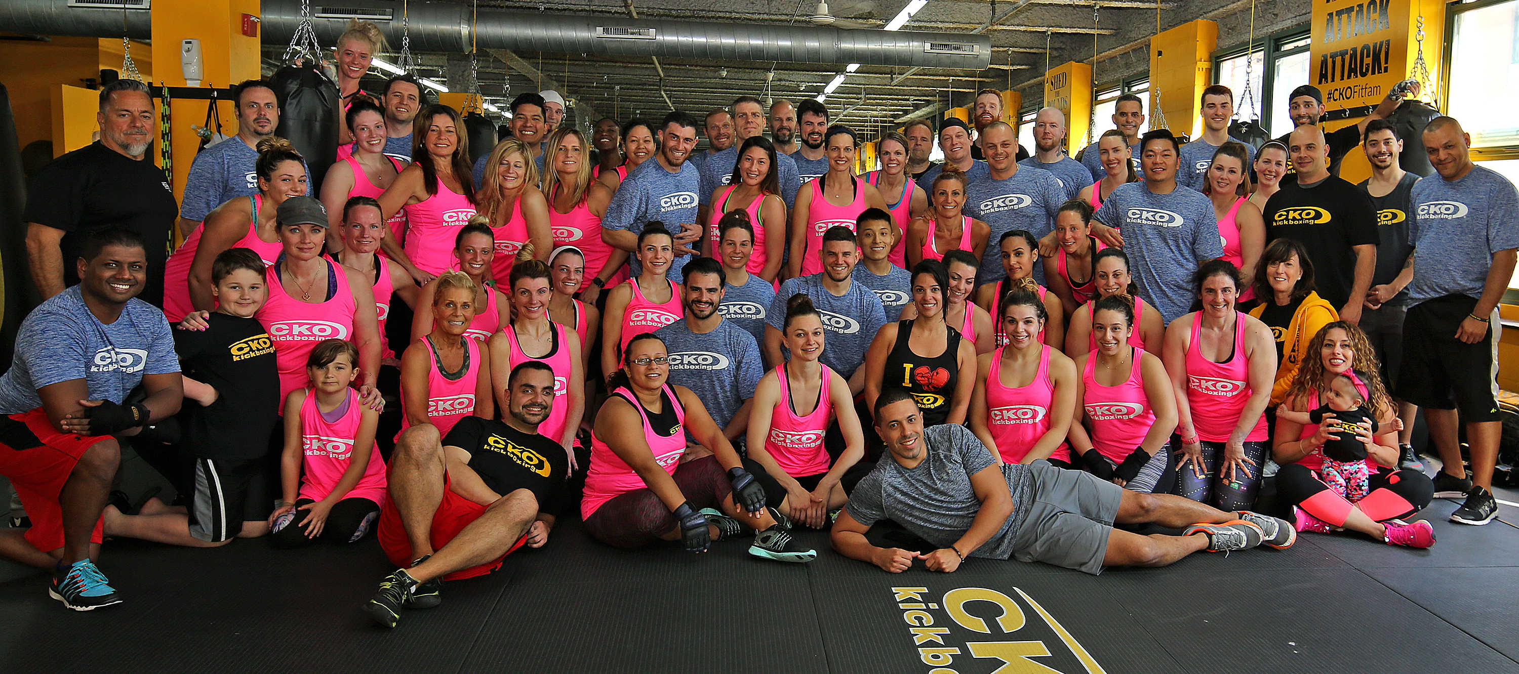 CKO Trainers Posing Together